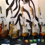 vintage guitar show oldenburg 2010 - the booth of tone nirvana from munich