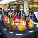 vintage guitar show oldenburg 2010 - the booth of tow wittrock and bernd groll