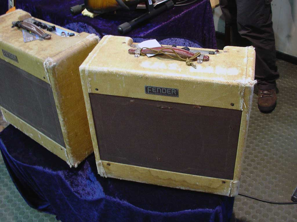 vintage guitar show oldenburg 2010 - fender wide panel tweed deluxe from 1952