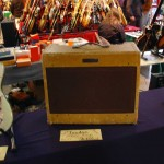 vintage guitar show oldenburg 2010 - fender wide panel tweed super amp