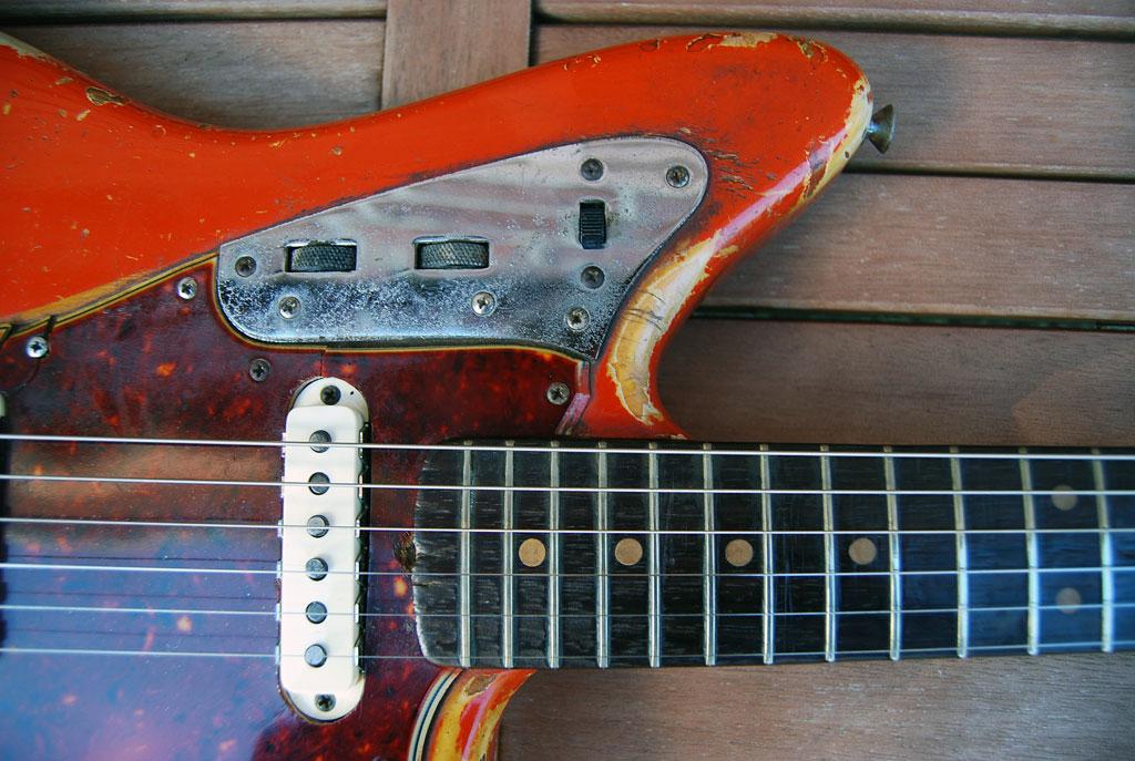 Fender Jaguar 1964 mit Clay Dots