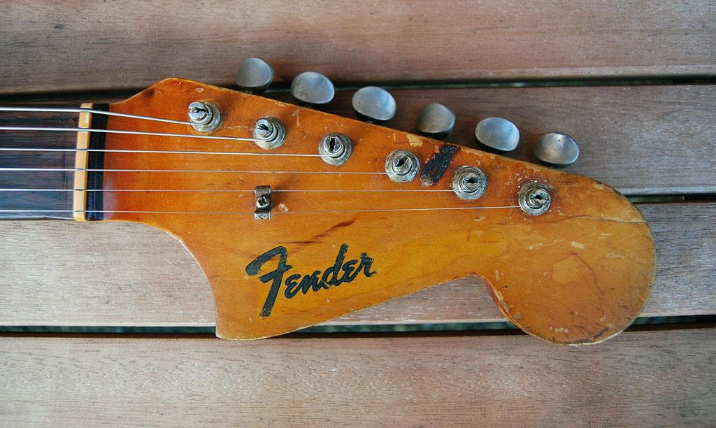 Fender Jaguar Kopfplatte aus 1964