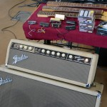 vintage guitar show veenendaal march 2011 - fender bandmaster amp early 1960ties white