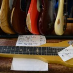 vintage guitar show veenendaal march 2011 - fender lapsteel from 1953