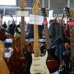 vintage guitar show veenendaal march 2011 - fender stratocaster from 1958 black refinished