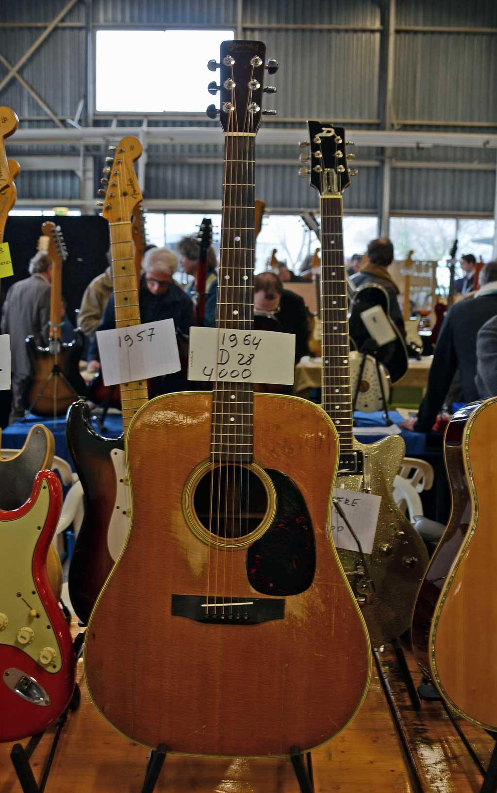 vintage guitar show veenendaal march 2011 - martin d28 from 1964