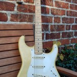 fender stratocaster 1957 blonde refinished