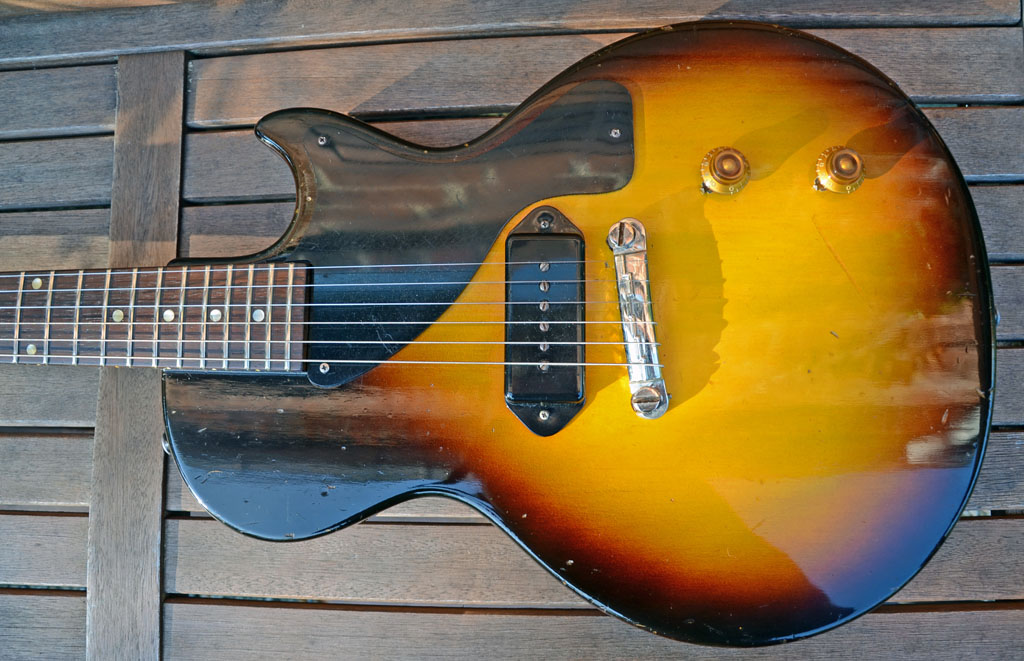gibson les paul junior 1959 singlecut - body