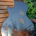 gibson les paul junior 1959 singlecut - body back
