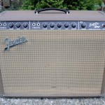 fender super amp 1962 brown 6G4-A - front view