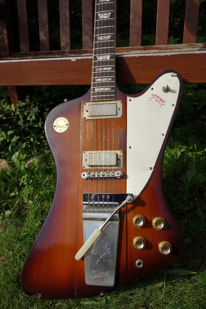 gibson firebird V 1972 medallion - body