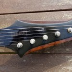 gibson firebird V 1972 medallion - headstock