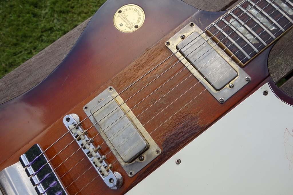 gibson firebird V 1972 medallion - pickups