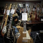 vintage guitar show oldenburg 2013 - gibson les paul custom 1958, gibson les paul goldtop 1952
