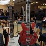 vintage guitar show oldenburg 2013 - www.tone-nirvana.com, fender stratocaster 1966, gibson es-335 1961 with bigsby